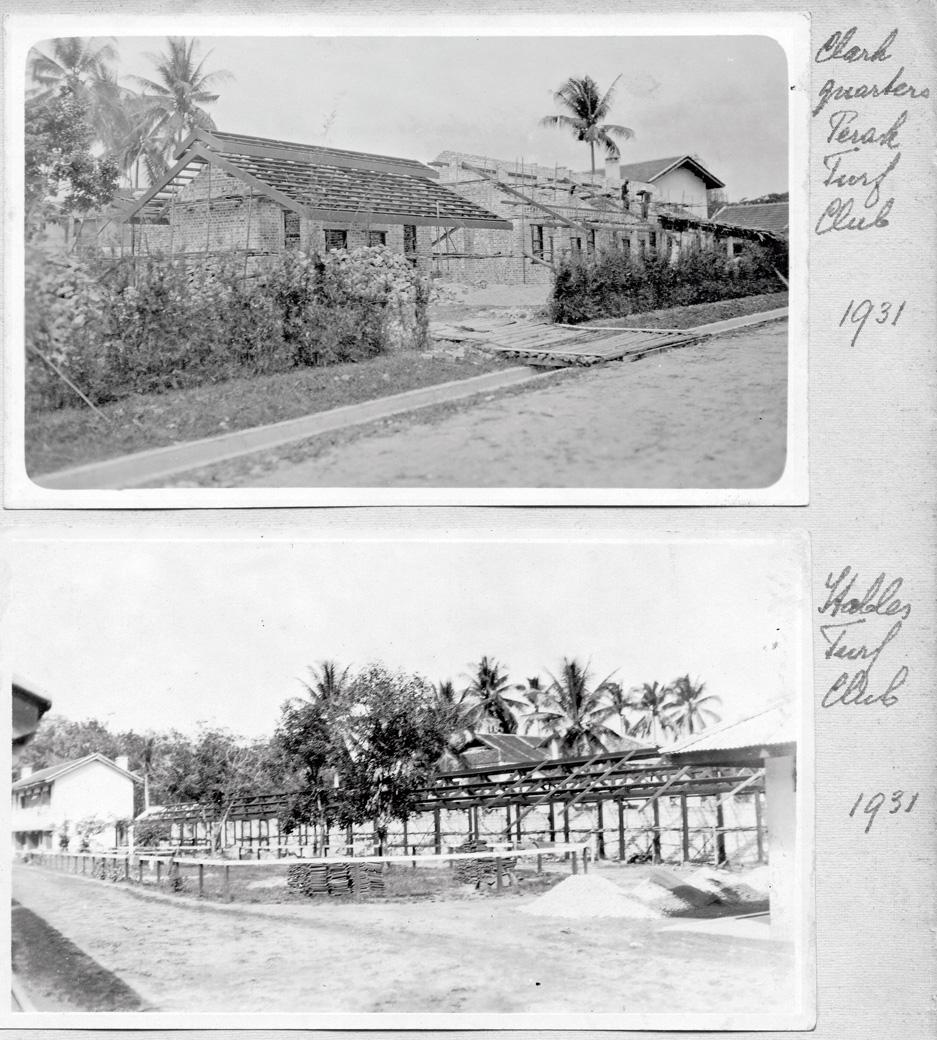 album, Perak Turf Club 1931