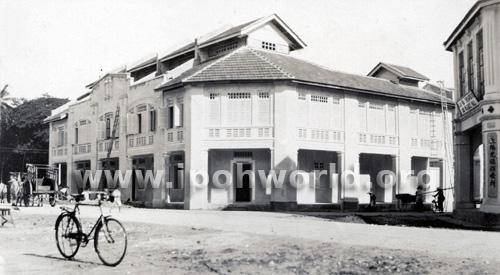 Shop house in Clark Street, Ipoh for Loke Wan Yat 1932