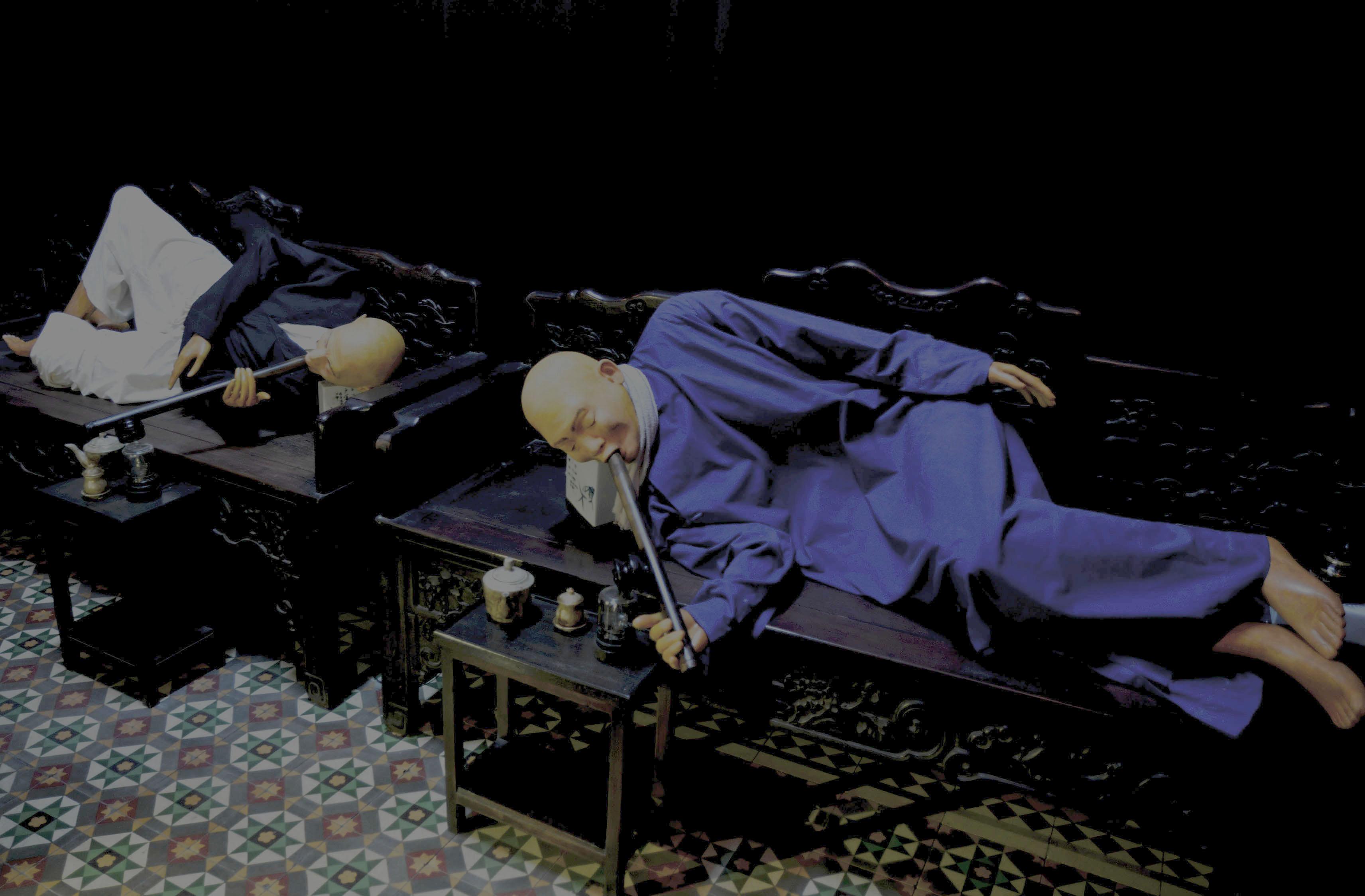 Shadowy Figures in the Opium Den 2