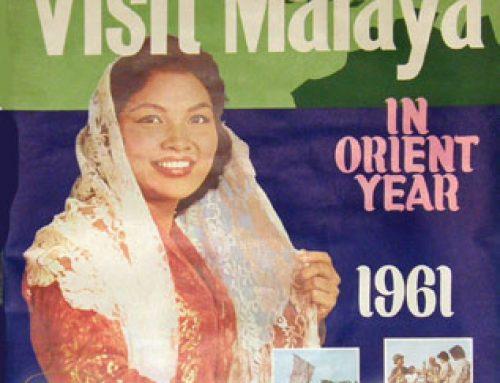 'Visit Malaya' poster