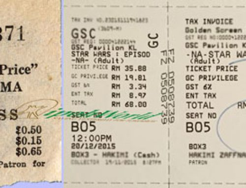 Then & Now – Movie Tickets