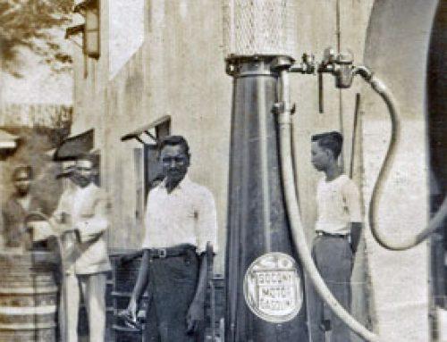 Socony Petrol Pump?