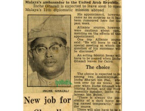 Perak Mentri Besar gets a promotion!
